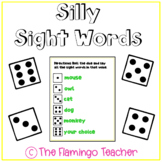 Silly Sight Words Dice Game
