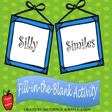 Silly Similes Fill-in-the-Blank Activity