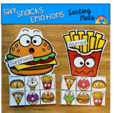 Silly Snacks Emotions Sorting Mats