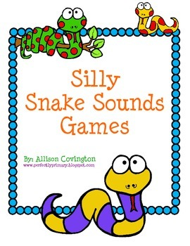 Silly Snake Sounds Games
