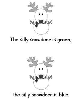 Silly Snowdeer Easy Reader