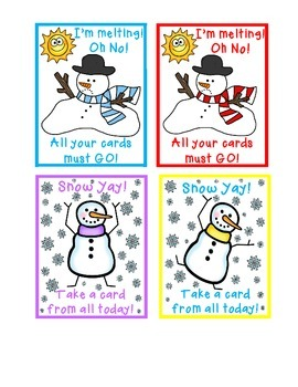 Silly Snowmen A Winter Sight Word Game