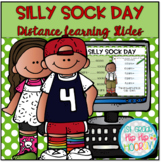 Silly Sock Day for Distance Learning