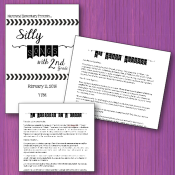 Silly Songs with Second Grade - A Musical Program