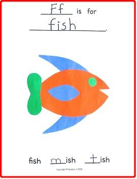 Silly Sounds Alphabet Phonemic Awareness Book