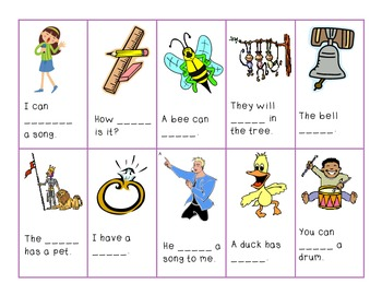 Silly Sounds Phonics Game Featuring -ing, -ang, -ong!
