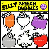 Silly Speech Bubbles Clipart