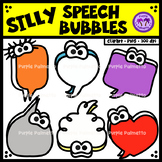 Silly Speech Bubbles Clipart