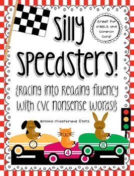 Silly Speedsters! {Racing into Reading Fluency with CVC Nonsense Words}