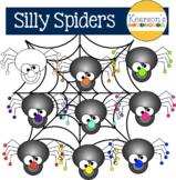 Silly Spider Clip Art