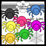 Silly Spiders Clip Art