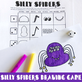 Silly Spiders Drawing Game