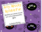 Silly, Spooky Syllable Activities