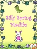 Silly Spring Madlibs - Parts of Speech Review
