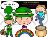 Silly St. Pat's Clipart Pack