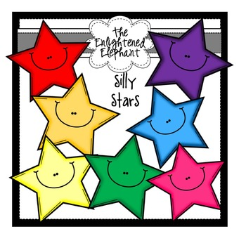 Silly Stars Clip Art