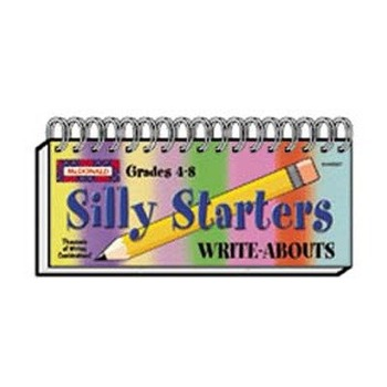 Silly Starters Write-Abouts, Grades 4-8