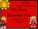 Silly Grammar Stories #3:  Grammar Fun for the Younger Kiddos Distance Learning