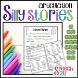 Prevocalic Vocalic R Silly Story Fill-Ins & Word Lists for