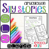 Articulation Carryover: Silly Story Fill-ins: /s/, /l/ and