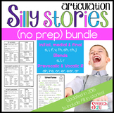$$Articulation Word List: Silly Stories Bundle, Blends, Consonants and Vocalic R