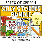 Silly Stories Growing Bundle for Students   Distance Learning