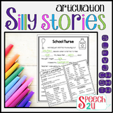 Articulation/Carryover: Silly Story Fill-ins S, TH, L, SH,