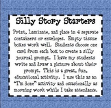 Silly Story Starters: Fun Journal Prompts