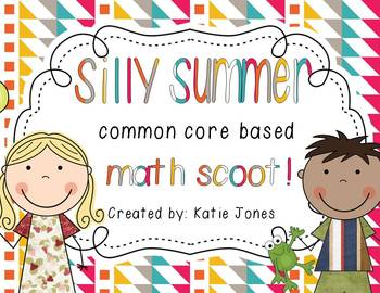 Silly Summer! {Common Core Math Scoot}