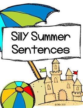 Silly Summer Sentence Making