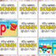Silly Summer Snowmen Alphabet Match Cards - Alphabet Game (PreK-Kindergarten)