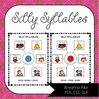 Silly Syllables Freebie