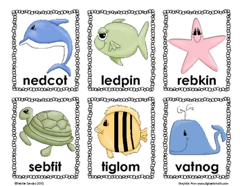 Silly Syllables Under the Sea