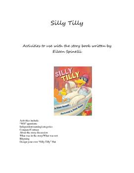 Silly Tilly Book Companion