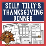 Silly Tilly's Thanksgiving Dinner Book Companion