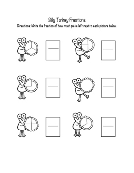 Silly Turkey Fractions!