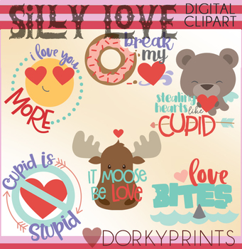 Silly Valentine Clipart