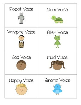 Silly Voice Cards