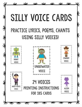 Silly Voices Cards