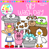 Silly Wash Day Clipart