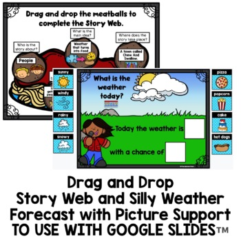 Cloudy With a Chance of Meatballs Book Companion | Silly Weather Forecast