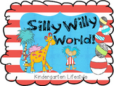 Silly Willy World word wall game