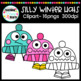 Silly Winter Hats Clipart