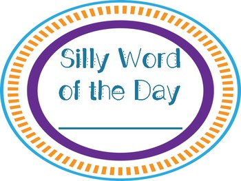 Silly Word of the Day