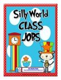 Silly World Themed Classroom Jobs