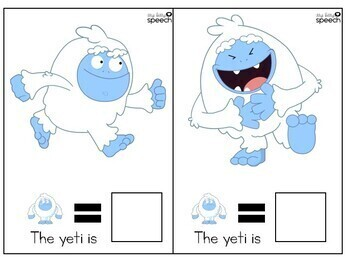 Silly Yetis - An interactive book