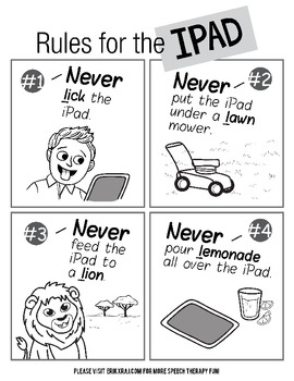 Silly iPad Rules for the /L/ sound