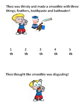 """Silly """"th"""" stories (articulation activity)"""