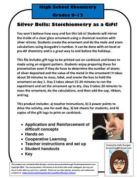 Silver Bells Chemistry Lab