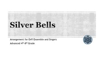 Silver Bells Orff Arrangement